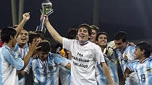 Mayor titulo con la Argentina sub-20