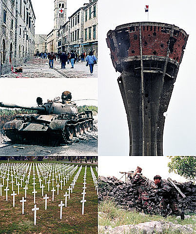 Начало Войны в Хорватии