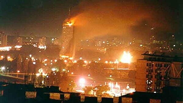 Бомбардировки Югославии странами NATO