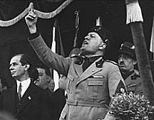 Pujada al poder de Benito Mussolini (encarregat de formar govern)