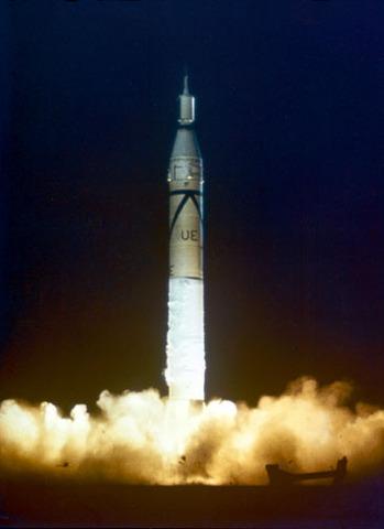 Explorer 1 Launched
