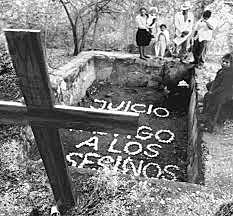 Masacre de Tenango y Guadalupe imputada al batallón Atlacatl.
