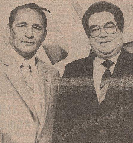 Después de una segunda vuelta son proclamados como presidente José Napoleón Duarte y vicepresidente Rodolfo Claramount.