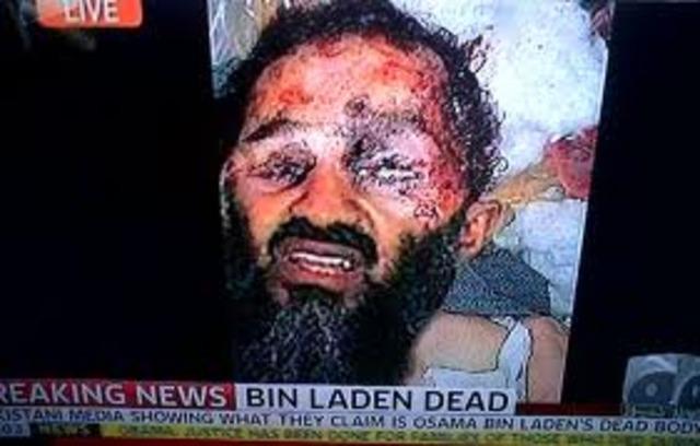 Osama bin Laden is killed