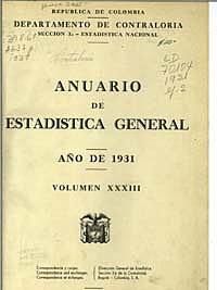 Anuario de estadística