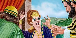 Jezebel Helps Ahab Kill Naboth