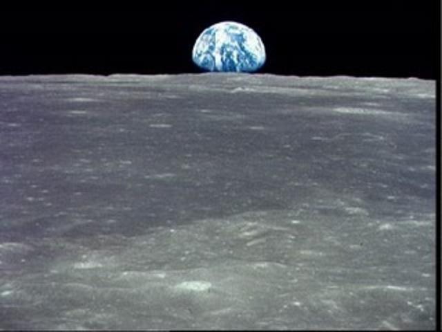 Apollo 17's return to the moon.