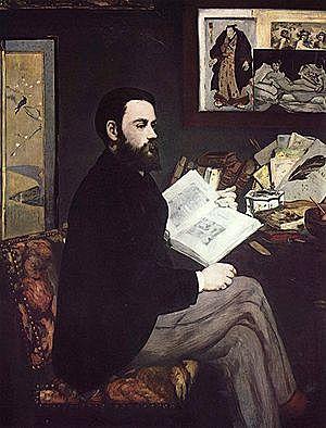 Retrato de Émile Zola, Manet