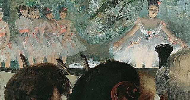 Músicos en la orquesta, Degas