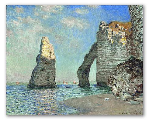 Acantilados de Étretat, Monet