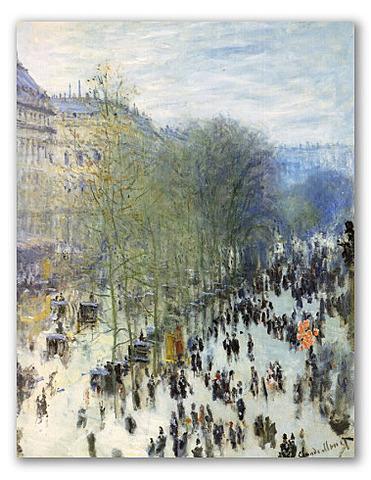 Boulevard des Capucines, Monet