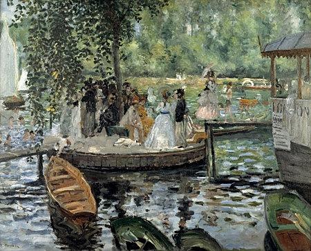 La Grenouillère, Renoir