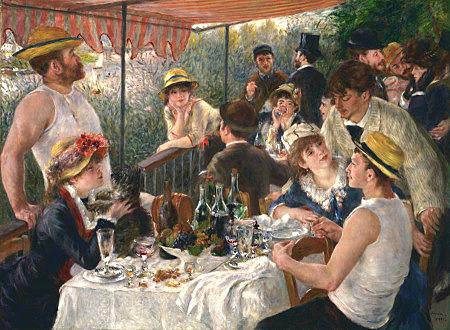 Almuerzo de remeros, Renoir