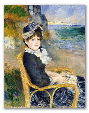 Por la orilla del mar, Renoir