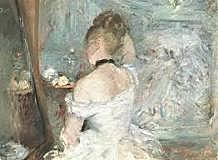 Mujer y su baño, Morisot