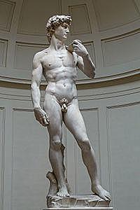 Creació del David de Michelangelo Buonarroti