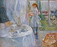 Interior de una cabaña, Morisot