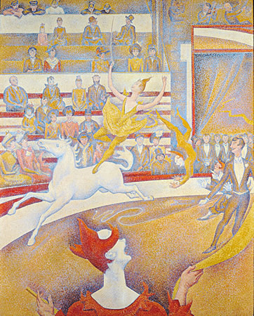 El circo, Seurat