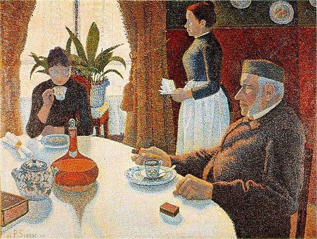 El desayuno, Signac