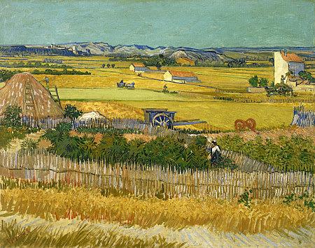 La cosecha, Van Gogh
