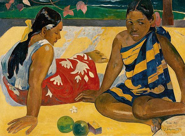Dos mujeres de Tahití, Gauguin