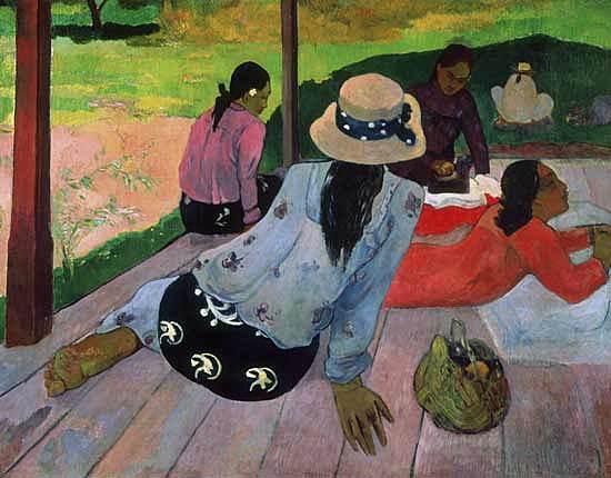 La Siesta, Paul Gauguin