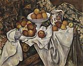 Manzanas y naranjas, Cézanne