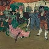 Marcelle Lender bailando en el Bolero in Chilperic