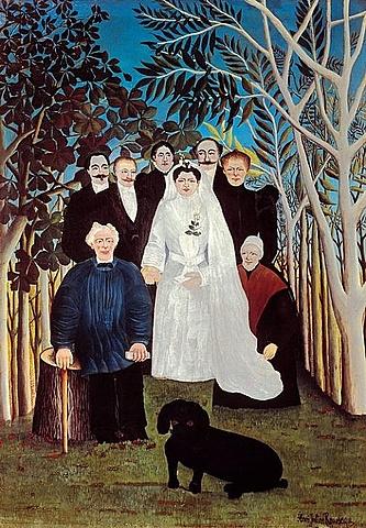 Una boda en el campo, Rosseau