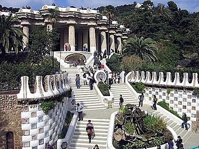 El parque Güell, Gaudí