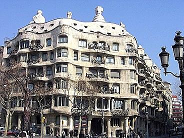 La Pedrera-Casa Milà, Gaudí
