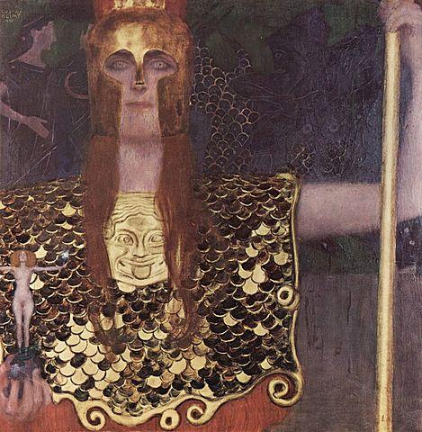 Pallas Atenea, Klimt
