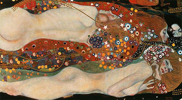 Serpientes de agua II, Klimt