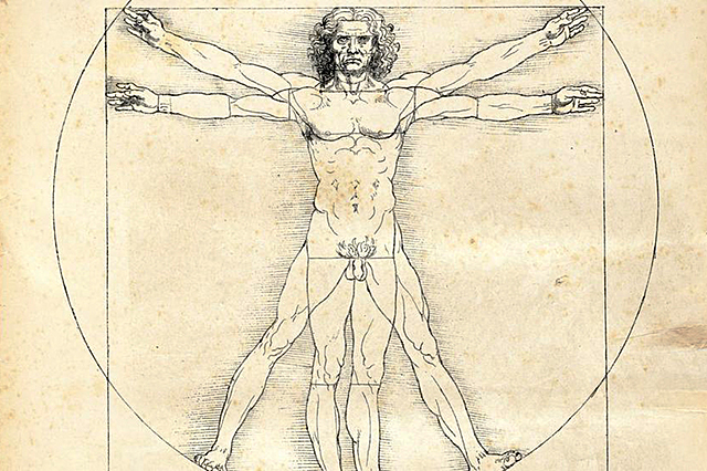 Creació de l'home de Vitruvi