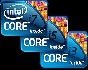 INTEL I3 I5 I7 2GEN