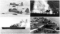 Les batalles de Midway i Guadalcanal