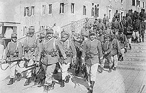 Itàlia declara la guerra a l'imperi austrohongarès