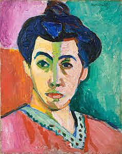 Madame Matisse o La raya verde, Mattise