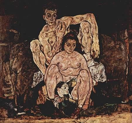 La familia, Schiele