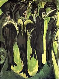 Cinco mujeres en la calle, Kirchner