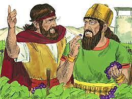 Ahab steals Naboth's Vineyard