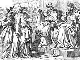 Miciah Prophesies Agianst Ahab