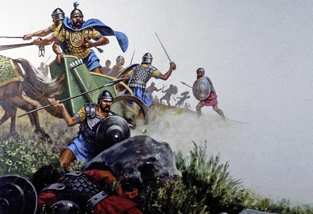 Ahab and Ben-Hadad's army