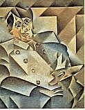 Retrato de Pablo Picasso, Picasso
