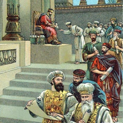 Jehosaphat becomes king of Judah