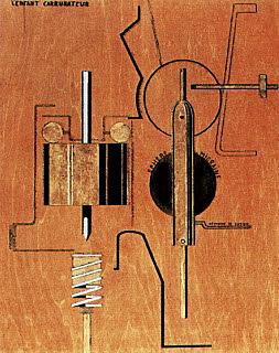 El niño carburador, Picabia