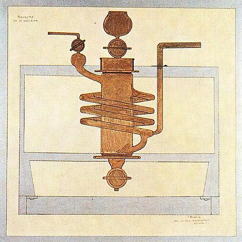Paroxismo de dolor, Picabia