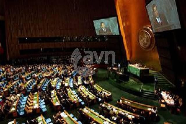 Secretario General de Naciones Unidas, quien logró sentar a las partes en Nueva York.