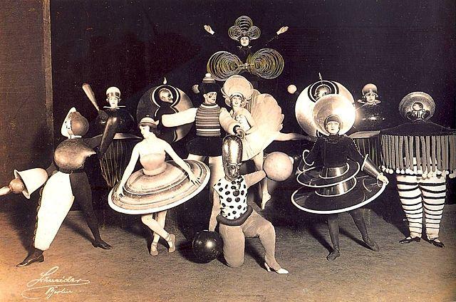 Diseño para vestuario de ballet, Schlemmer