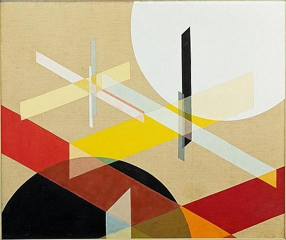 Composición Z VIII, Moholy Nagy